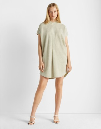 Club Monaco Knit Shirt Dress