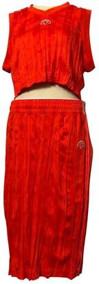 Adidas Originals By Alexander Wang Orange Cotton Top for Women