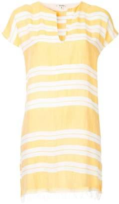 Lemlem horizontal stripes tunic dress