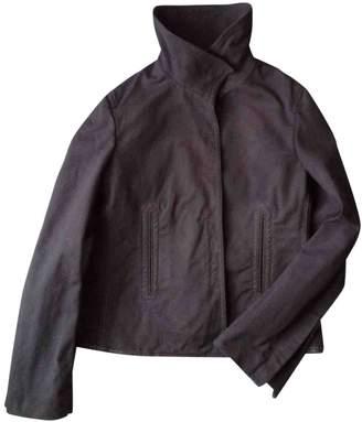 Gucci \N Grey Denim - Jeans Leather jackets