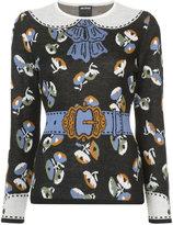 Anna Sui printed jumper