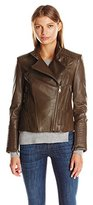 Vince Camuto Women's Moto Leather