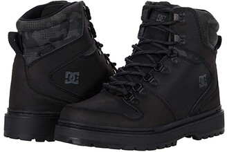 DC Peary TR (Black/Camo) Men's Lace-up Boots