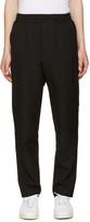 Ami Alexandre Mattiussi Black Wool Drawstring Trousers