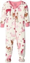 Hatley Deer and Bunnies Footed Coverall (Infant)