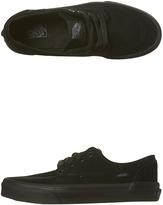 Vans Kids Brigata Suede Shoe Black