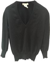 Celine Black cashmere V neck knitwear