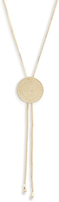 Sterling Forever Bolo Necklace