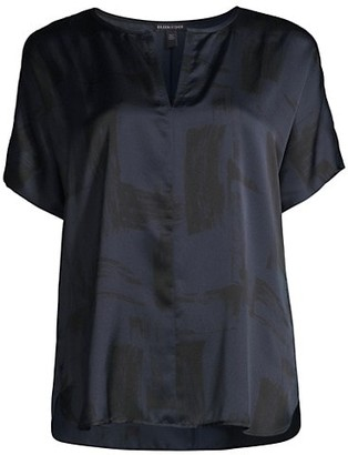 Eileen Fisher Silk Boxy T-Shirt