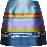 Ted Baker Laken Stripe Jacquard Mini Skirt
