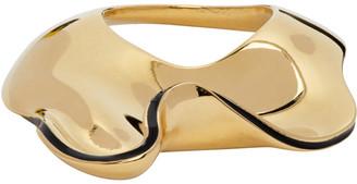 Jil Sander Gold Air Ring