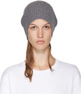 Stella McCartney Grey Wool Beanie