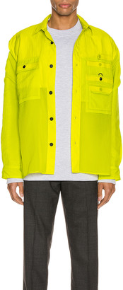 Acne Studios Nylon Jacket in Sharp Yellow | FWRD