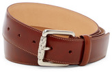 Tommy Bahama Cortina Leather Belt (Big & Tall)
