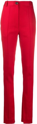Peter Do Slim-Fit Side Slit Trousers