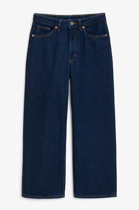 Monki Mozik dark blue jeans