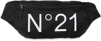 N°21 Logo Print Nylon Belt Bag