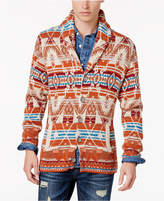 American Rag Men's Folk Geometric Shawl Cardigan, Created for Macy's