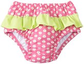 I Play Girls' Classic Ruffle Swimsuit Bottom w/Builtin Swim Diaper (6mos-3T) - 8145770