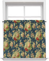 Waverly Sanctuary Rose Rod-Pocket Window Tiers