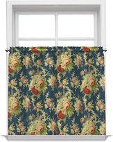Waverly Sanctuary Rose Rod-Pocket Window Tiers