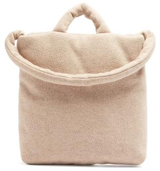 Kassl Editions Felted Medium Wool-blend Tote Bag - Beige