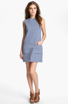 Isaac Mizrahi New York Stripe Shift Dress