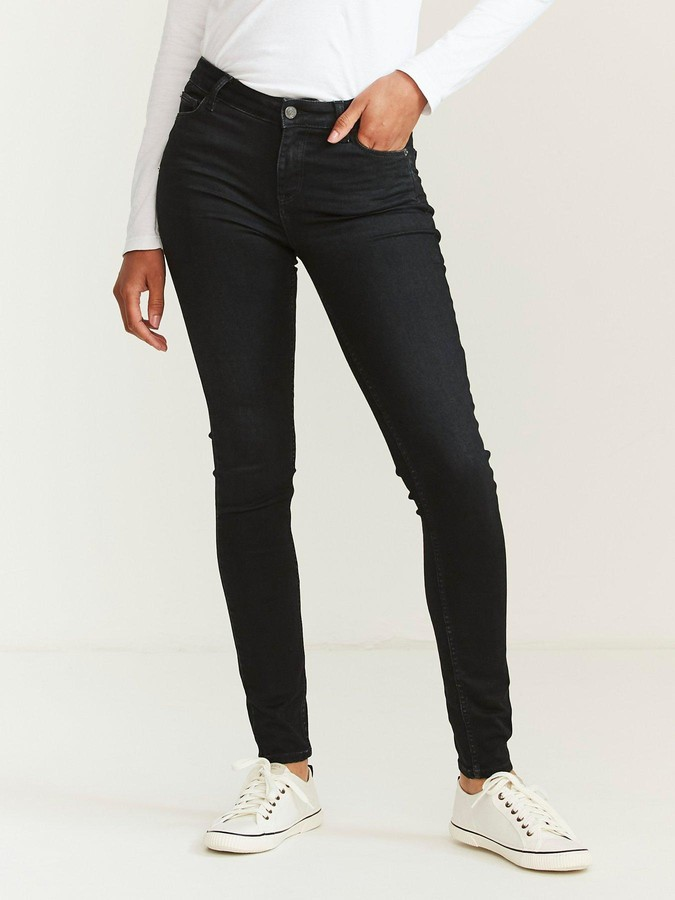 Thumbnail for your product : Fat Face Fatface Harlow Skinny Jean - Black