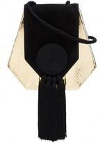 Saint Laurent tassel evening crossbody bag
