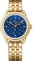 Tommy Hilfiger TH737 ladies gold bracelet watch