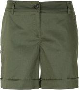 P.A.R.O.S.H. high waist chino shorts - women - Cotton/Spandex/Elastane - S