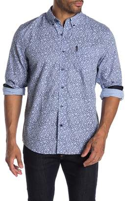 Ben Sherman Leaves Over Gingham Union Fit Shirt