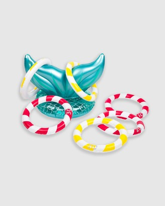 Sunnylife Inflatable Mermaid Ring Toss Game - Kids