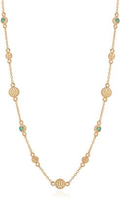 Anna Beck Turquoise Station Necklace
