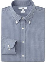 Uniqlo Men's Easy Care Broadcloth Slim-Fit Dress Shirt