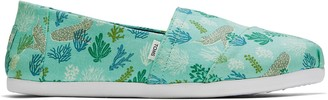Toms Aruba Blue Whale and Shark Glow In The Dark Print Women's Classics