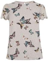 Oasis EVERLY BUTTERFLY LACE TOP