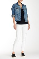 Jolt Slit Knee Skinny Jean (Juniors)