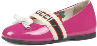 Gucci Patent Leather Band Ballet Flats, Baby/Toddler