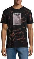 Eleven Paris Men's Printed Cotton Tee