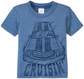 City Threads Cruisin' Car Soft Heathered Jersey Tee (Baby) - Smurf - 12-18 M - 12-18 Months
