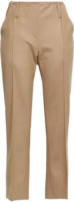 Rokh Cropped Twill Straight-leg Pants