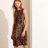 Ralph Lauren Ocelot-Print Jersey Dress