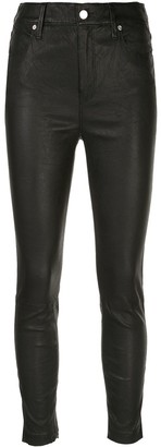 RtA Leather Skinny Trousers