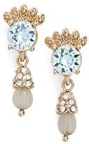 Marchesa Women's Sheer Bliss Small Drop Earrings