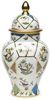Herend Rothschild Bird Covered Urn