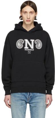 Nahmias Black Collegiate Hoodie