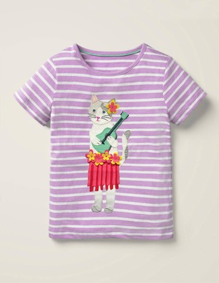 Tassel Applique T-shirt