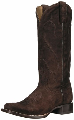 Stetson Women's Amber Western Boot Brown 9 Medium US
