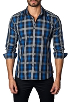Jared Lang Plaid Cotton Sportshirt